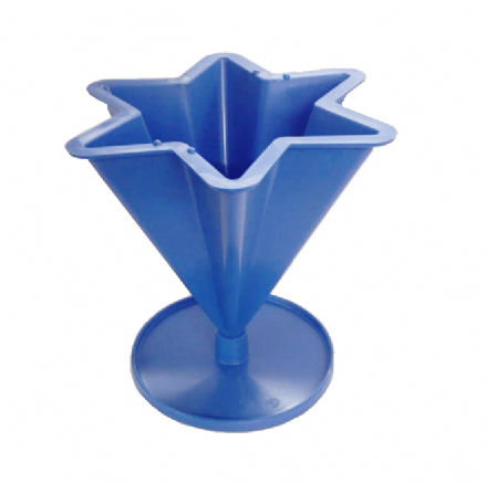 Candle Mould - Plastic 5 point star